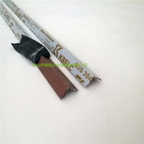 玫瑰金不锈钢线条 L型装饰线条 7型包边条金属收边条